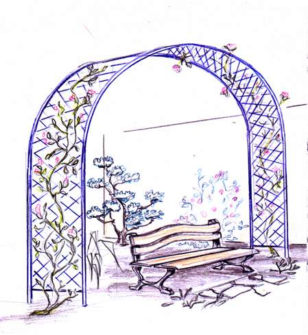 Пергола прикраса вашого саду